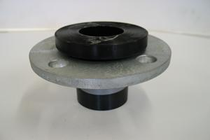flange with gal backing ring